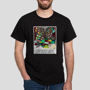 Philosophy Texts Are Dangerous Dark T-Shirt