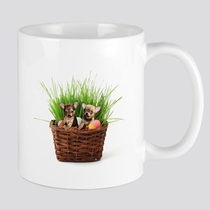 Easter Chihuahua puppies Mugs