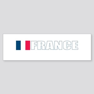 France Flag (Dark) Bumper Sticker