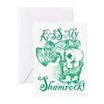 St. Patricks Day Leprech Greeting Cards (Pk Of 10)