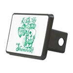 St. Patricks Day Leprechau Rectangular Hitch Cover