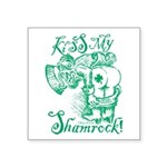 St. Patricks Day Leprechaun Square Sticker 3