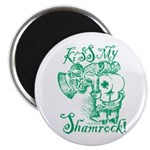 St. Patricks Day Leprechaun Kiss My Magnet