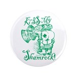 St. Patricks Day Leprechaun Kiss My 3. 3.5
