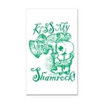 St. Patricks Day Leprechaun K Rectangle Car Magnet