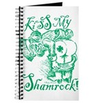 St. Patricks Day Leprechaun Kiss My Journal