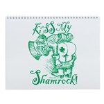 St. Patricks Day Leprechaun Kiss My Wall Calendar