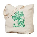 St. Patricks Day Leprechaun Kiss My Tote Bag