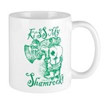 St. Patricks Day Leprechaun Kiss My Mug