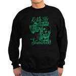 St. Patricks Day Leprechaun Kiss Sweatshirt (dark)
