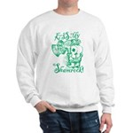 St. Patricks Day Leprechaun Kiss My Sweatshirt