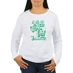 St. Patricks Day Lepre Women's Long Sleeve T-Shirt