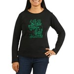 St. Patricks Day Women's Long Sleeve Dark T-Shirt