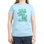 St. Patricks Day Leprechaun Women's Light T-Shirt