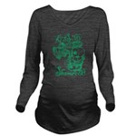 St. Patricks Day Lep Long Sleeve Maternity T-Shirt