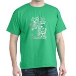 St. Patricks Day Leprechaun Kiss My D Dark T-Shirt