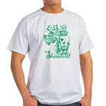 St. Patricks Day Leprechaun Kiss My Light T-Shirt