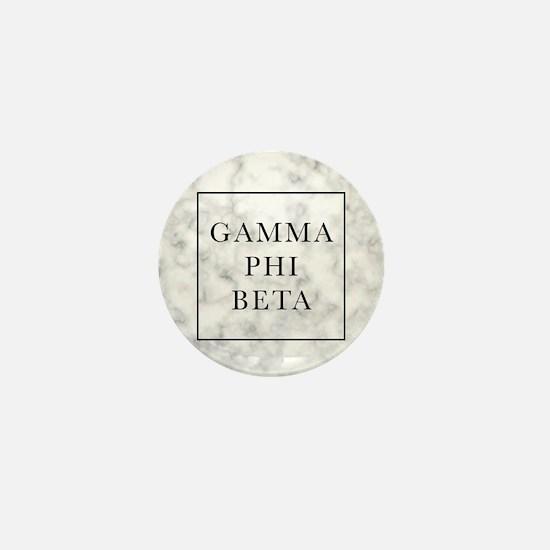 Gamma Phi Beta Marble Mini Button