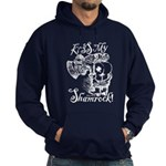 St. Patricks Day Leprechaun Kiss My Hoodie (Dark)
