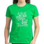 St. Patricks Day Leprechaun K Women's Dark T-Shirt