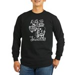 St. Patricks Day Leprecha Long Sleeve Dark T-Shirt