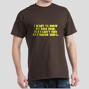 Bacon Seeds Dark T-Shirt