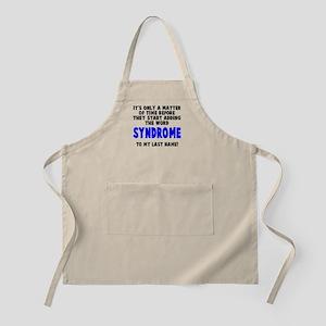 Syndrome to last name Apron