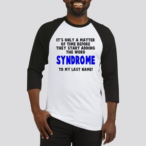 Syndrome to last name Baseball Jersey