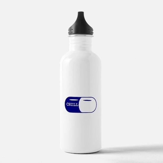 Chill Pill Sports Water Bottle
