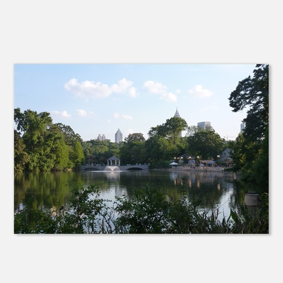 Atlanta Piedmont Park Cit Postcards (Package of 8)