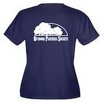 OPS Official Women's Plus Size V-Neck Dark T-Shirt