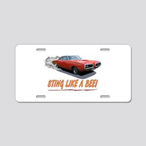 STING LIKE A BEE! Aluminum License Plate