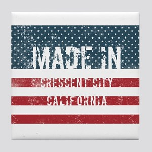 Made in Crescent City, California Tile Coaster