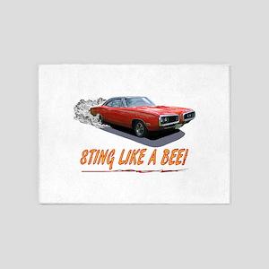 STING LIKE A BEE! 5'x7'Area Rug