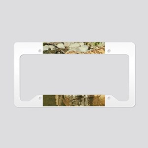Clean Tigers License Plate Holder
