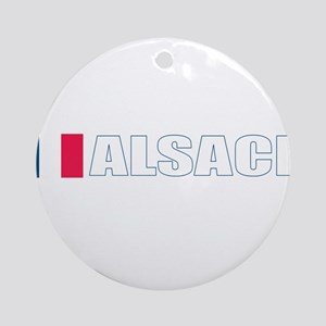 Alsace, France Ornament (Round)