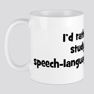 Study speech-language patholo Mug