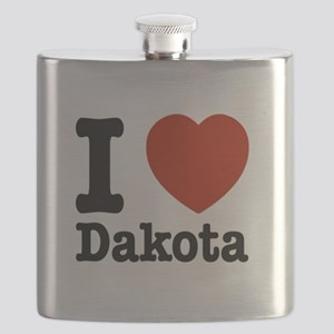 I love Dakota Flask