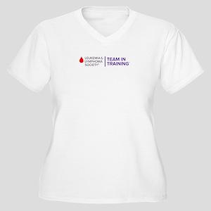 Transparent Logo Plus Size T-Shirt