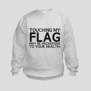 Colorguard Hazard Kids Sweatshirt
