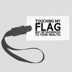 Colorguard Hazard Large Luggage Tag