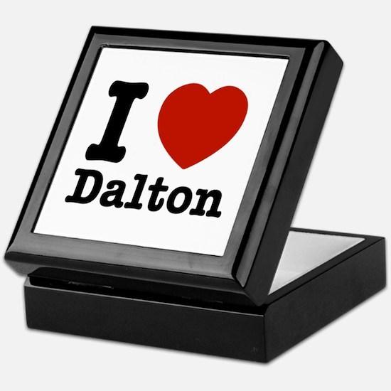 I love Dalton Keepsake Box