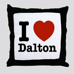 I love Dalton Throw Pillow