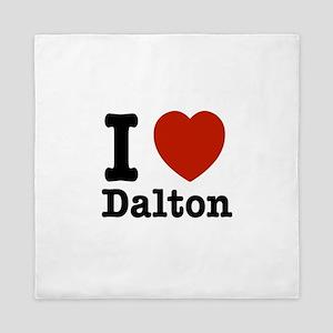 I love Dalton Queen Duvet