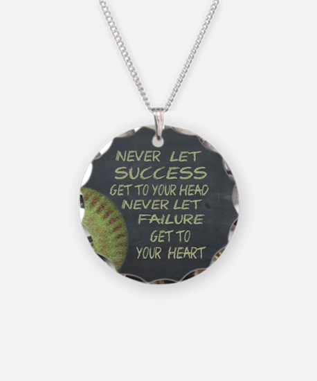 Success Fastpitch Softball M Necklace
