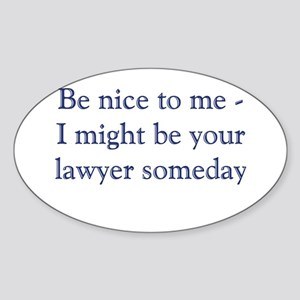 Lawyer Someday Sticker