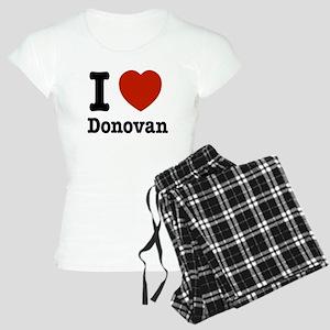 I love Donovan Women's Light Pajamas