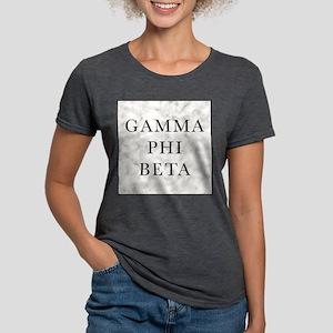 Gamma Phi Beta Marble Womens Tri-blend T-Shirt
