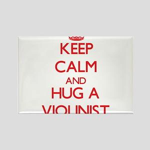 Keep Calm and Hug a Violinist Magnets