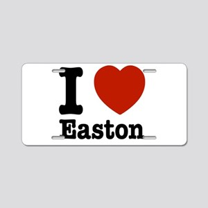 I love Easton Aluminum License Plate